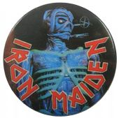Iron Maiden - 'Eddie Somewhere in Time' 32mm Badge